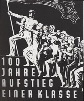 Plakat Aufstieg Arbeiter