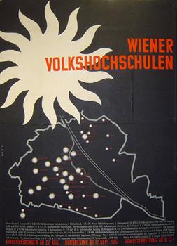 Wiener Volkshochschulen_Plakat 1951